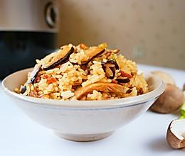 菌菇焖饭#铁釜烧饭就是香#的做法