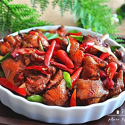 苏北版的红烧香辣鸡块