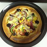 培根披萨  两个的量,自制披萨饼皮+披萨酱 (一)的做法图解13