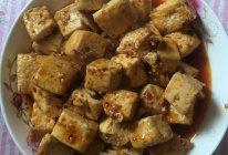 老干妈焖煎豆腐的做法