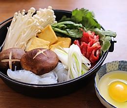 带你喜欢的人去吃日式寿喜烧,捂暖那刻高冷的心。的做法