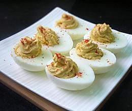 芥末鸡蛋的做法