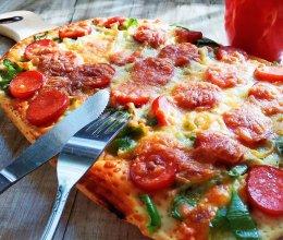 超简单的【懒人披萨】的做法