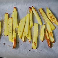不用一滴油,健康烤薯条的做法图解7