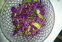 凉拌紫橄榄的做法