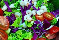 夏日减脂虾仁蔬菜沙拉  丘比千岛酱的做法