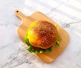 #营养小食光#牛肉汉堡,鲜嫩多汁的做法