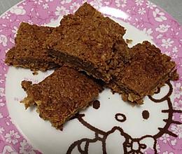 巧克力全麦片小饼的做法