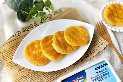 安佳软黄油煎红薯糯米饼