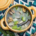 丝瓜山药海鲜汤
