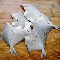 香煎小鲳鱼的做法图解2