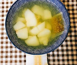 马蹄梨汤的做法