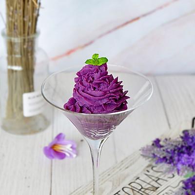奶香紫薯泥#松下多面美味#