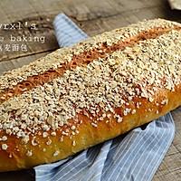 橄露Gallo经典特级初榨橄榄油试用之一 ——燕麦面包的做法图解13