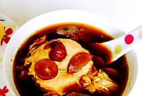 红糖姜片水波蛋的做法