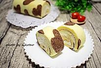奶牛纹蛋糕卷的做法