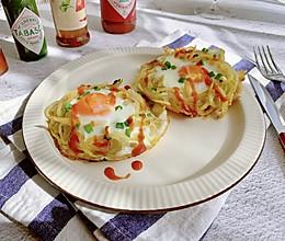 #以美食的名义说爱她#土豆丝窝蛋的做法