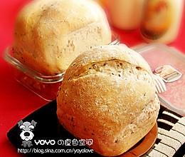 黑米杂粮面包的做法