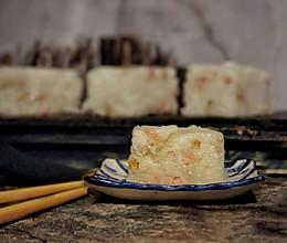 广式腊味萝卜糕#10分钟早餐大挑战#的做法