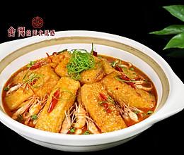 比肉好吃的【河虾煲豆腐】的做法