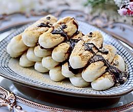 #福气年夜菜#红糖黄豆粉糍粑的做法