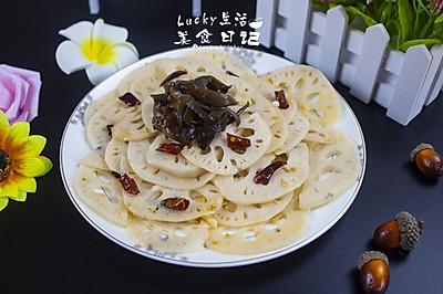 干椒炒藕片   Lucky生活美食日记