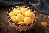 蛋黄溶豆#跨界烤箱 探索味来#的做法