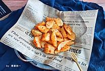 #硬核菜谱制作人#香辣烤土豆的做法