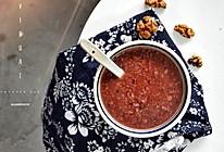 核桃黑米粥的做法