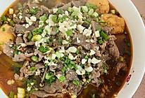 #憋在家里吃什么#水煮牛肉,简直版的做法