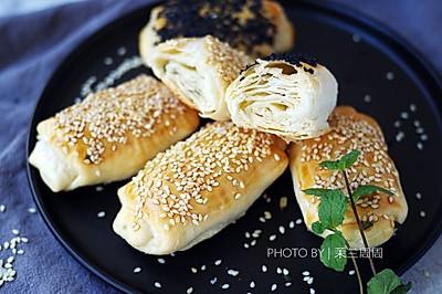 白鲨面粉试用之黄桥酥烧饼