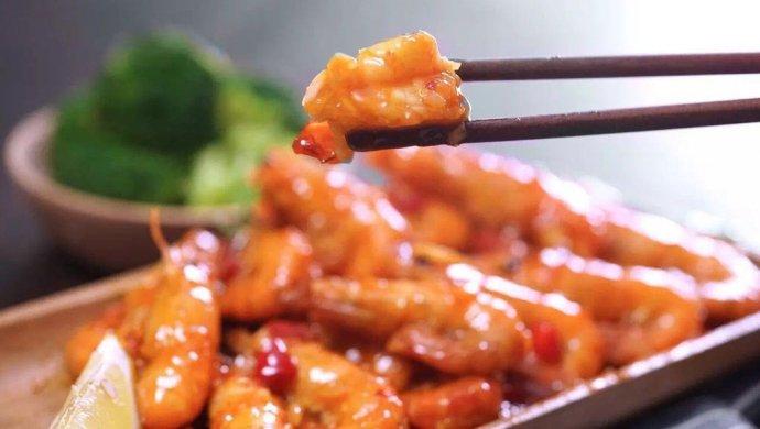 泰式酸辣虾|日食记