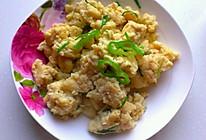 营养早餐__豆渣炒鸡蛋的做法
