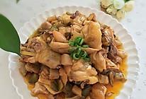 鸡肉焖榨菜的做法