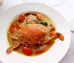 泰式咖喱蟹的做法