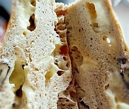 免揉纯全麦面包超软 无糖油的做法