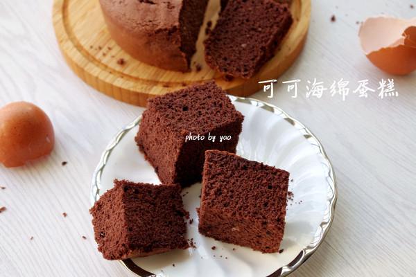 成功率高的可可海绵蛋糕的做法