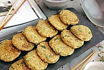 香煎花生豆腐饼#急速早餐#的做法