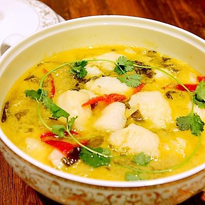 川菜-不用片鱼的酸菜鱼-龙利鱼新吃法