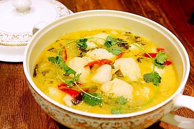 川菜-不用片魚的酸菜魚-龍利魚新吃法