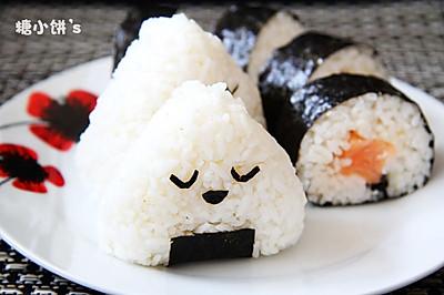 【三文鱼饭团&三文鱼寿司卷】