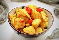 #花10分钟,做一道菜!#香辣椒香薯角的做法