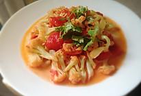 番茄有机菜花的做法