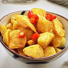 #花10分钟,做一道菜!#香辣椒香薯角