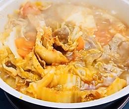 懒人白菜肥牛锅的做法