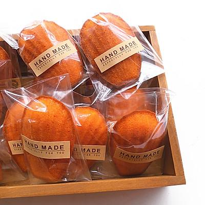 黄金芝士香橙玛德琳蛋糕