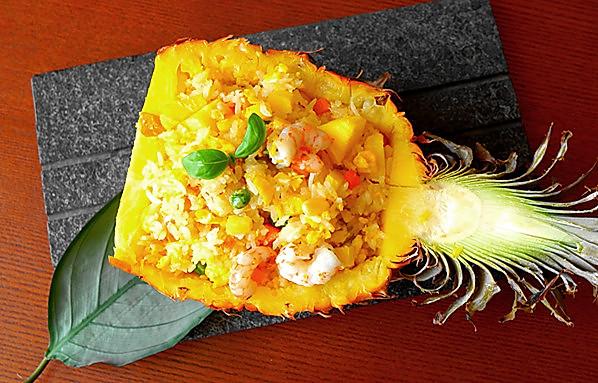 小朋友不好好吃饭必杀技--泰式菠萝饭
