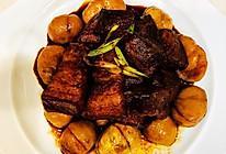 红烧肉与粟子的做法