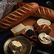 经典半硬质面包 维也纳面包