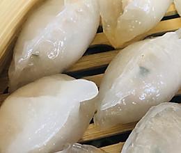 #美食视频挑战赛#虾仁水晶饺,早茶必点的做法